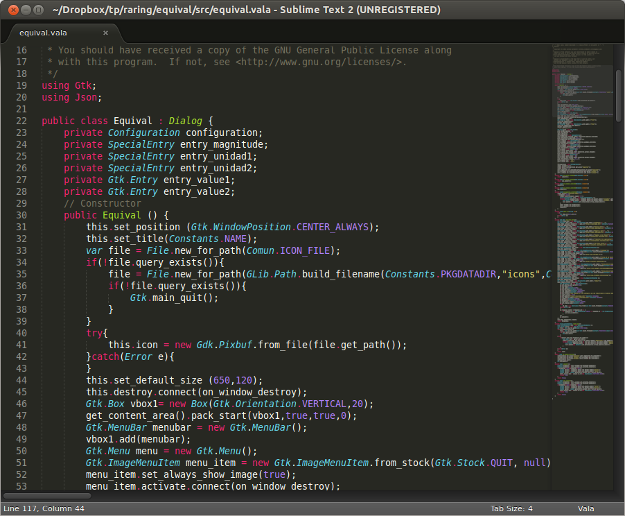 Sublime Text 2 sobre Ubuntu