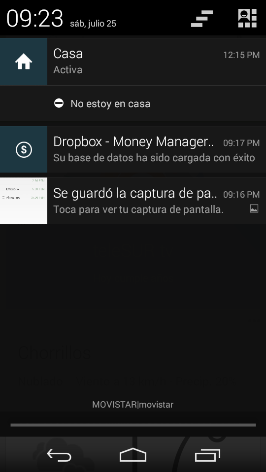 Sincronización en Money Manager EX en Android.