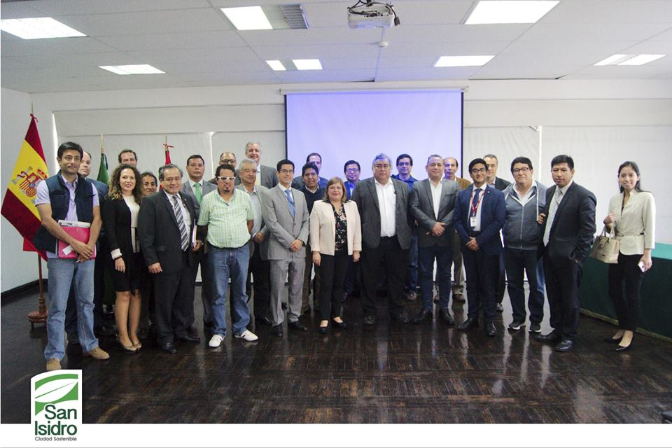 Participantes del San Isidro Smart Cities Demo 2017